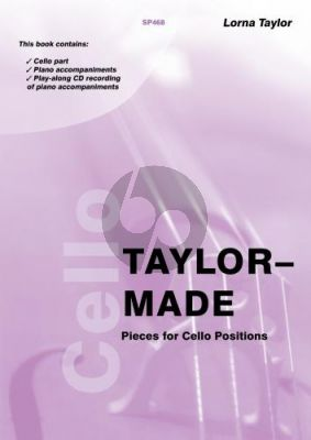 Taylor Taylor-Made Pieces for Cello Positions