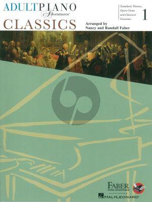 Faber Adult Piano Adventures: Classics - Book 1