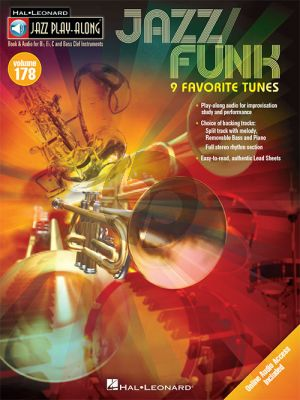 Jazz/Funk (Jazz Play-Along Series Vol.178) All Instr.