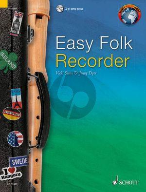 Easy Folk Recorder Descant Recorder (Bk-Cd)