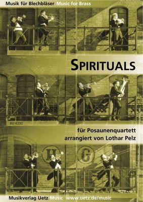 Spirituals 4 Trombones (Score/Parts)