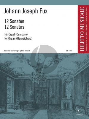 Fux 12 Sonaten Orgel(Cembalo) (Erich Benedikt)