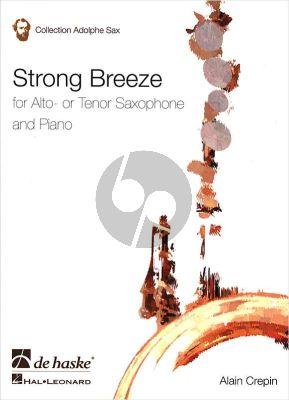 Crepin Strong Breeze Alto Sax.[Tenor Sax.]-Piano