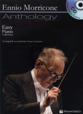Morricone Anthology Easy Piano Collection (Bk-CD) (edited by Franco Concina) (engl.)