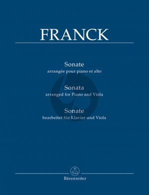 Franck Sonata Viola-Piano (edited by Douglas Woodfull-Harris)
