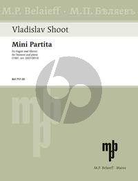 Shoot Mini Partita for Bassoon and Piano