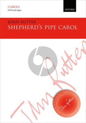 Rutter Shepherd's Pipe Carol SATB Vocal score