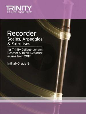 Recorder Scales, Arpeggios & Exercises Initial–Grade 8) Descant- and Treble Recorder
