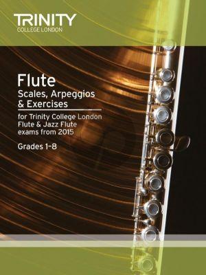 Flute & Jazz Flute Scales & Arpeggios Grades 1-8 for 2015