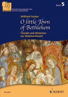 Fischer O little Town of Bethlehem SABar.