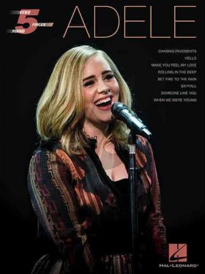 Adele 8 Hits Five Finger Piano Artist Songbook