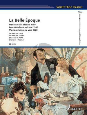 La Belle Époque (French Music around 1900) Flute-Piano