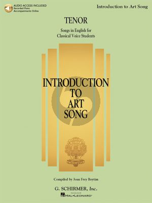 Introduction to Art Song for Tenor (Book with Audio online)