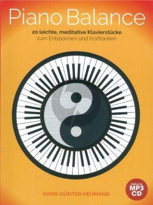 Heumann Piano Balance - 20 Easy And Meditative Songs (Bk-Cd)