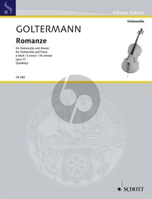 Goltermann Romanze e-minor Op.17 Violoncello-Piano