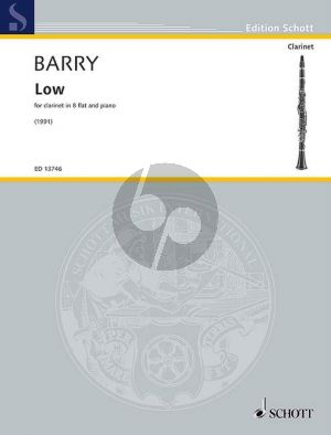 Barry Low Clarinet[Bb]-Piano