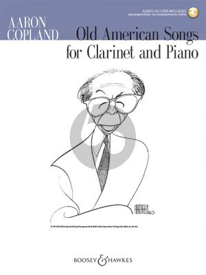 Copland Old American Songs Clarinet and Piano (Book with Audio online)