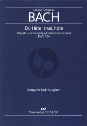 Bach Kantate BWV 104 Du Hirte Israel, höre Soli-Chor-Orch. KA