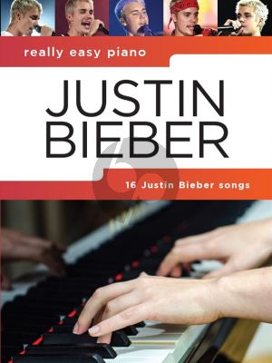 Really Easy Piano: Justin Bieber