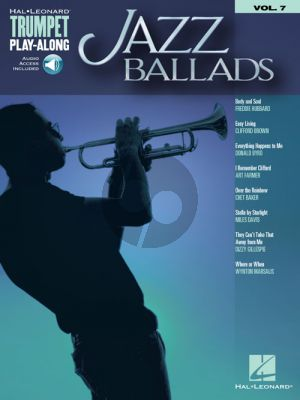 Jazz Ballads (Trumpet Play-Along Series Vol.7)