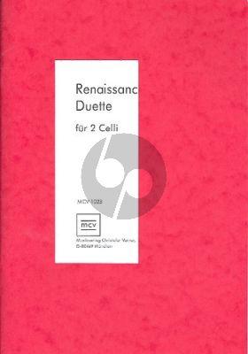 Renaissance-Duette 2 Violoncellos (Johanna Varner)