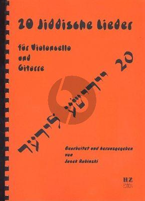 20 Jiddische Lieder Violoncello und Gitarre