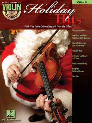 Holiday Hits (Violin Play-Along Series Vol.6) (Bk-Cd)
