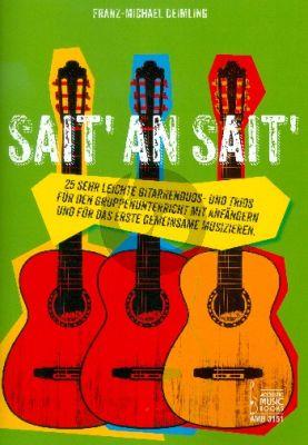Deimling Sait' an Sait' (25 sehr leichte Gitarrenduos und Trios)