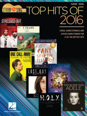 Top Hits of 2016 (Strum & Sing Guitar Series)