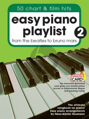 Easy Piano Playlist Vol.2 From The Beatles to Bruno Mars