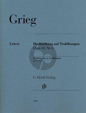 Grieg Hochzeitstag auf Troldhaugen Op.65 No.6 Klavier