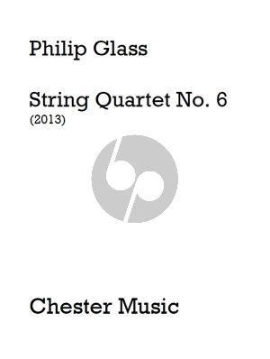 Glass Quartet No.6 (2013) 2 Vi.-va.-Vc. Parts