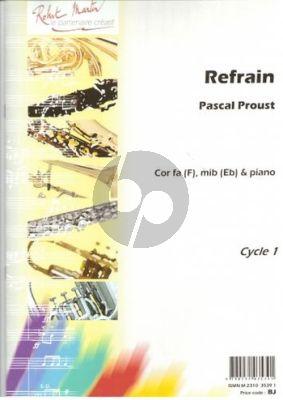 Proust Refrain Horn (Fa ou Mib)-Piano