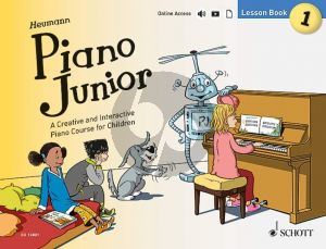 Heumann Piano Junior Lesson Book 1 (Book with Audio online)