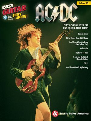 AC/DC (Easy Guitar Play-Along Series Vol.13)