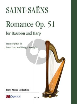 Saint-Saens Romance Op.51 for Bassoon and Harp