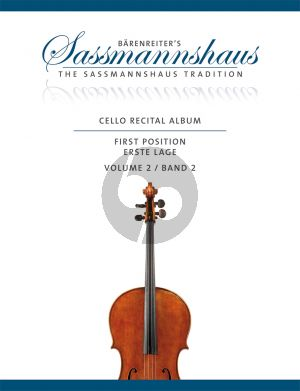 Cello Recital Album Vol.2 Violoncello-Piano (or 2 Violoncellos)