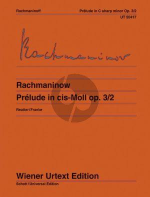 Rachmaninoff Prelude Op.3 No.2 C-sharp minor Piano solo