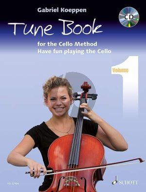 Koeppen Tune Book for the Cello Method (Have fun playing the Cello) (Bk-Cd)