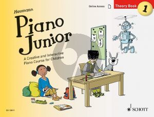 Heumann Piano Junior: Theory Book 1