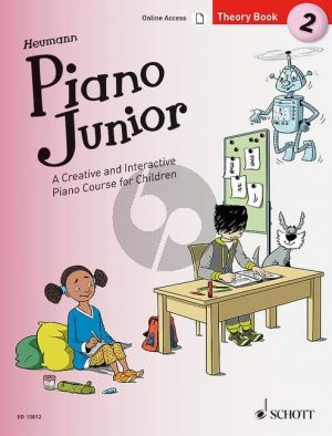 Heumann Piano Junior: Theory Book 2
