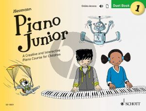 Heumann Piano Junior: Duet Book 1