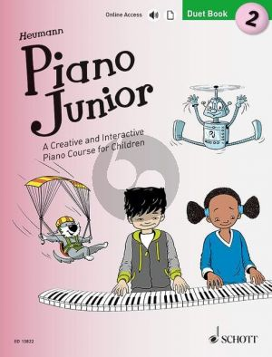 Heumann Piano Junior: Duet Book 2