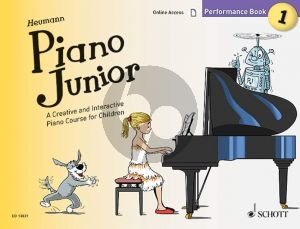 Heumann Piano Junior: Performance Book 1