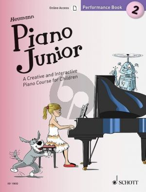 Heumann Piano Junior: Performance Book 2