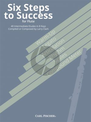 Clark Six Steps to Success for Flute