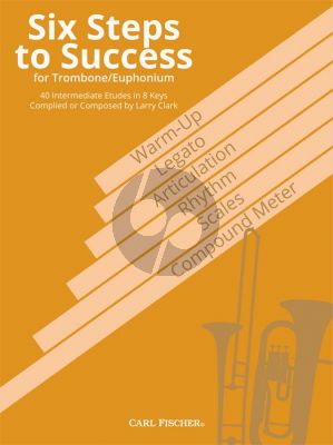 Clark Six Steps to Success for Trombone/Euphonium