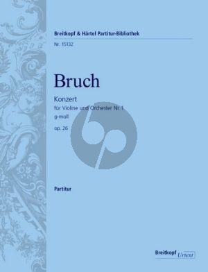 Bruch Violinkonzert No. 1 g-moll Op. 26 Partitur (Michael Kube)