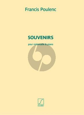 Poulenc Souvenirs Violoncello-Piano