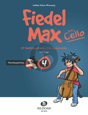 Holzer-Rhomberg Fiedel-Max goes Cello 4 Klavierbegleitung